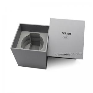 Tilpasset karton Sølvfolie Logo Watch Packaging Box